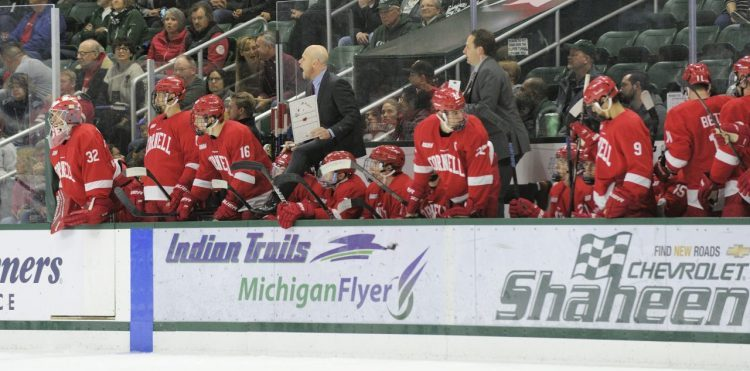 Coach Syer on the Bench